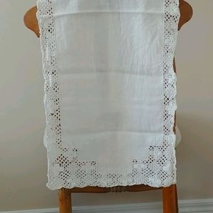 3/$15 Vintage linen cloth - as is